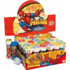 Spiderman 60ml Soap Bubbles Party Toy, Dulcop 513005, 1 piece