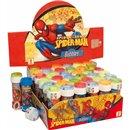 Jucarie Baloane de Sapun 60 ml cu Spiderman, Dulcop 513005, 1 buc