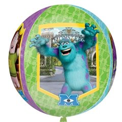 Orbz Disney Monster University Foil Balloon, 38 x 40 cm, Amscan 28401, 1 piece