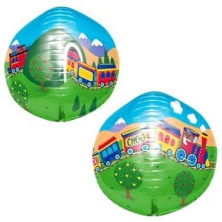 3D Sphere Foil Balloon ChooChoo Train,  43 cm, Amscan 01177, 1 piece