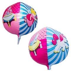 Balon folie sfera 3D printesa - 43cm, Northstar Balloons 01183