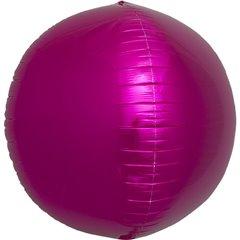Balon folie sfera magenta metalizat 3D - 43cm, Northstar Balloons 01006