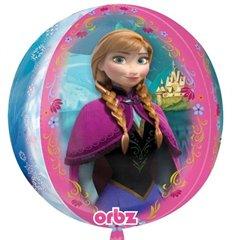 Balon Folie Sfera Orbz Frozen, 38X40 cm, 29816