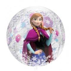 Orbz Frozen Clear Foil Balloons, 38x40cm, 301870