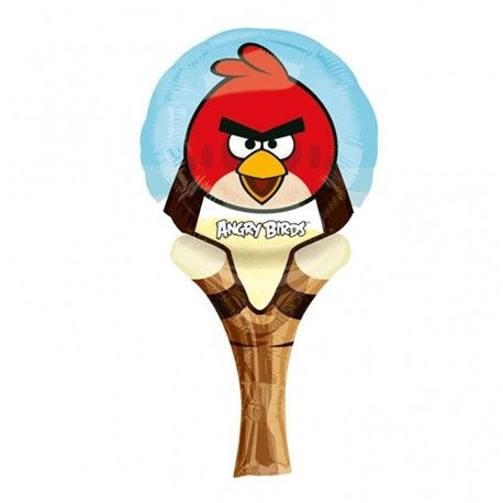 Balon Minifolie Inflate-a-Fun Angry Birds, Amscan, 27360