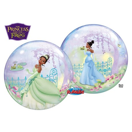 "Princess And The Frog Bubble Balloon - 22""/56cm, Qualatex 24404, 1 piece"