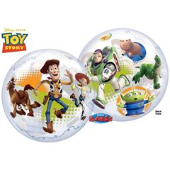 "Toy Story Bubble Balloon - 22""/56cm, Qualatex 25871, 1 piece"