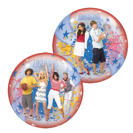 "High School Musical Bubble Balloon - 22""/56cm, Qualatex 19025, 1 piece"