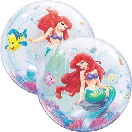 """Balon Bubble 22""""/56cm Qualatex, Mica Sirena, 60166"""