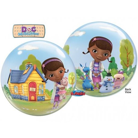 "Doc McStuffins Bubble Balloon - 22""/56cm, Qualatex 66575, 1 piece"