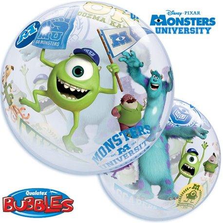 """Balon Bubble 22""""/56cm Qualatex, Monsters University, 44711"""