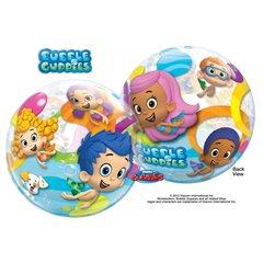 "Balon Bubble 22""/56cm Qualatex, Bubble Guppies, 65579"