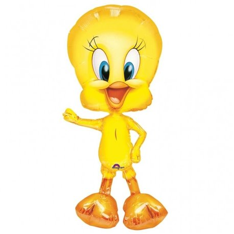 Looney Tunes Tweety SuperShape Foil Balloons, Amscan, 41 x 84 cm, 02761