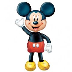 Balon folie airwalker Mickey Mouse Disney - 132cm, Amscan 08318