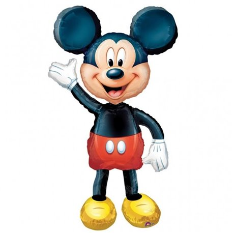 Mickey AirWalkers Foil Balloon, Amscan, 132 cm, 08318