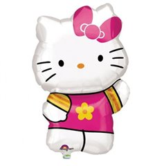 Balon folie figurina Hello Kitty - 41x63cm, Amscan 27476