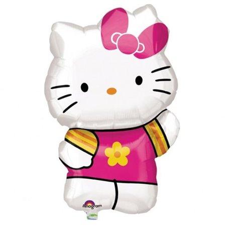 Hello Kitty Summer Supershape Foil Balloon, Amscan, 41x63 cm, 27476