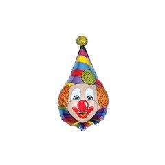 Balon folie figurina cap clovn - 72x45cm, Radar 901522