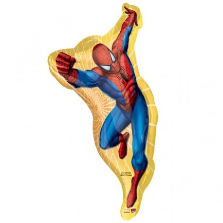 SpiderMan SuperShape Foil Balloon, 48x97 cm, 18179