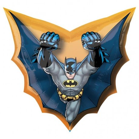 Batman Cape Shape SuperShape Foil Balloon, 71x69 cm, 17755