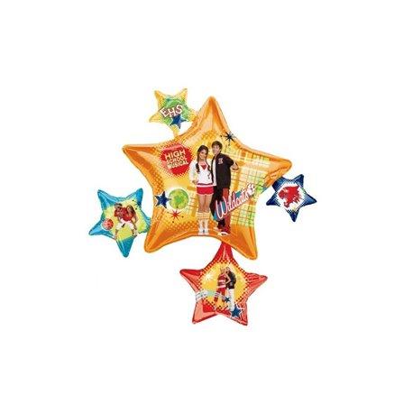 High School Musical Foil Balloons, 89x81 cm, 17717