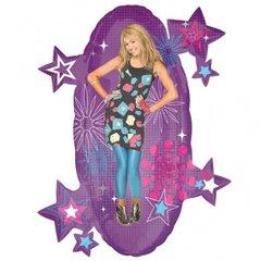 Balon Folie Figurina Hannah Montana cu Stelute, 61X74cm, 18219