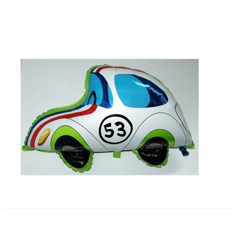 Herbie Fully Loaded Car Mylar Foil Balloon TV Film Boy Birthday Party, 81x41cm, 11542