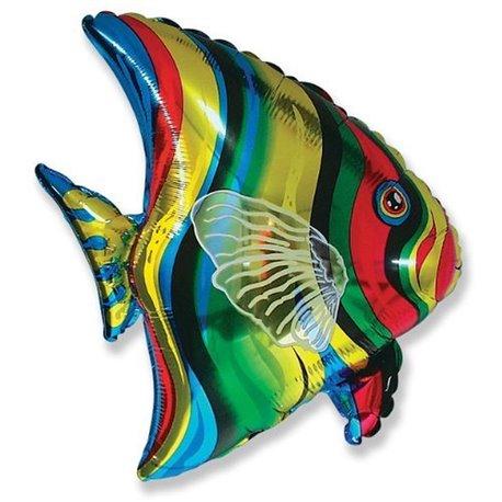Tropical Fish Foil Balloon, 65x60 cm, 901612