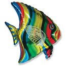 Tropical Fish Foil Balloon, 65x60 cm, 901612