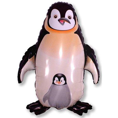 Balon Folie Figurina Pinguin, 56 x 84 cm, 901659