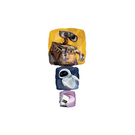 Wall.E Supershape Foil Balloon, 46x97 cm, 16755