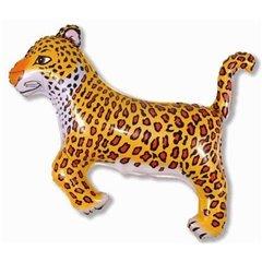 Balon folie figurina leopard - 74x75cm, Radar 901635