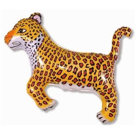 Balon Folie Figurina Leopard, 74x75 cm, 901635