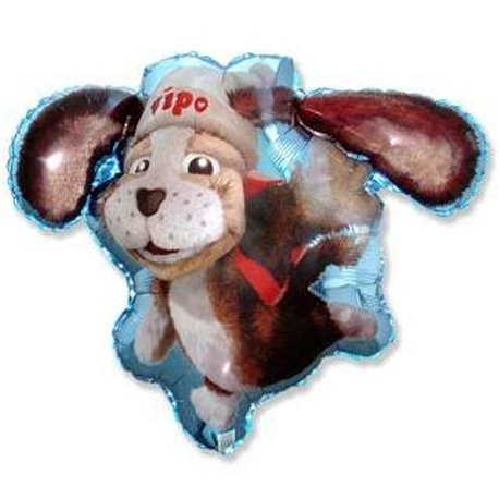 "Vipo The Flying Dog Shaped Balloon 26"" Foil Balloon, 65x85 cm, 901678"