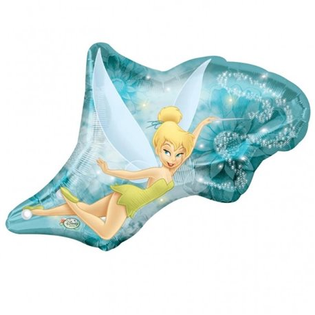 Tinker Bell Fairy SuperShape Foil Balloon, 53x51 cm, 17853