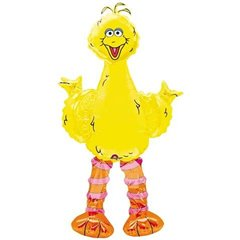 Big Bird AirWalkers Foil Balloon, Amscan, 160 cm, 08358