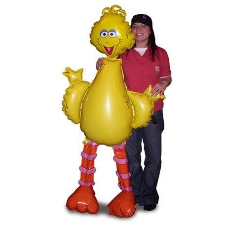 Big Bird AirWalkers Foil Balloon, Amscan, 160 cm, 08358