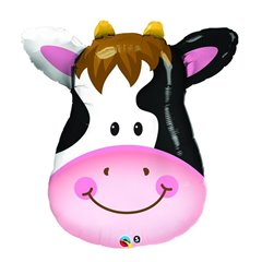 Balloon Foil Super Shape Cow, Qualatex, 81 cm, 16455