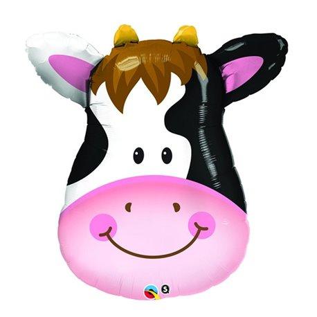 Balloon Foil Super Shape Cow, Qualatex, 81 cm, 29654