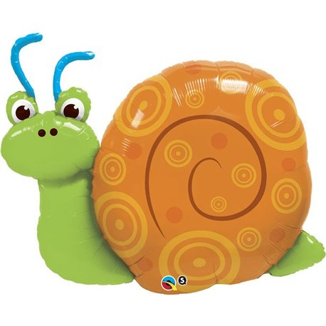 "Balon Folie Figurina Cute Swirly Snail - 91cm/36"", Qualatex 30728"