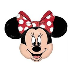 Minnie Mouse Shape Foil Balloon - 71x58 cm, Amscan 22912ST