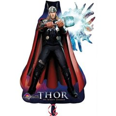 Super Shape Thor Mighty Avenger, Amscan, 84 cm, 22297
