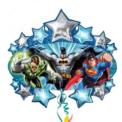 Balon folie figurina Justice League Marquee - 78cm, Amscan 21229