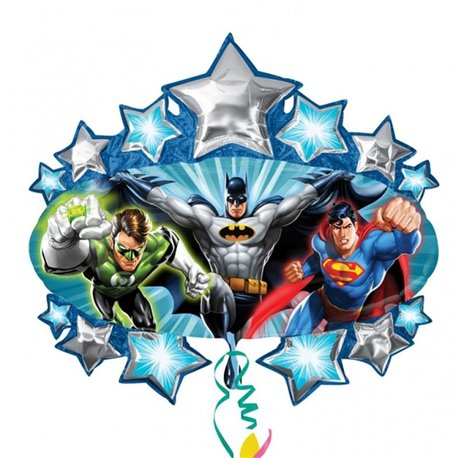 Balon Folie Figurina Justice League Marquee, 78 cm, 21229