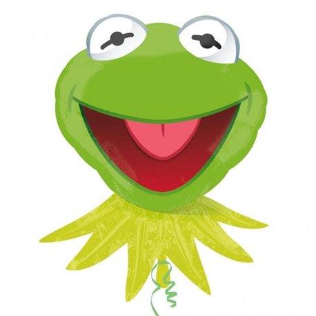 Kermit the Frog Supershape Foil Balloon, 61x76 cm, 23072
