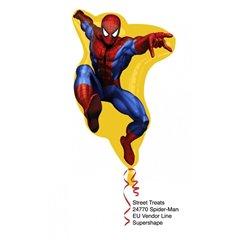 VB Spiderman Helium Foil Supershape, 24770