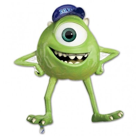 Monsters University Mike Wazowski Jumbo Mylar Balloon, Amscan, 76x86 cm, 26202