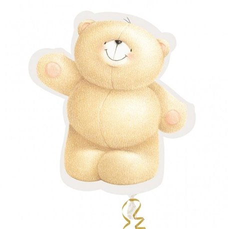 Foil Balloon Bear Forever Friends, 79 cm, 21549