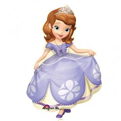 Disney Princess Sofia The First Super Shape Mylar Balloon, Amscan, 66x88 cm, 27531
