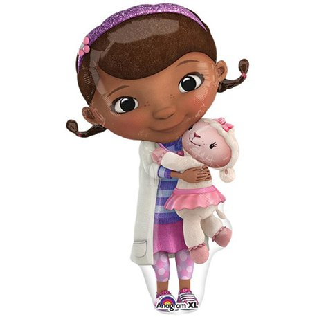 Doc McStuffins SuperShape Foil Balloon, Amscan, 55x88 cm, 27535